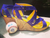 "LSU Heels - ""Game Day Mike"" Wedge"