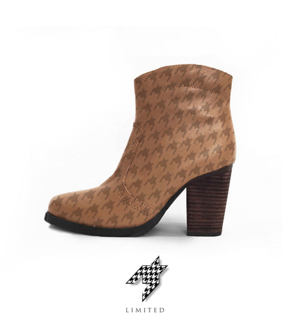 Limited Houndstooth Boot - The Process (Brown)