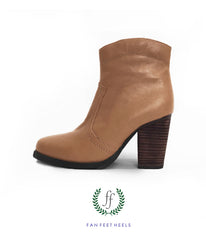 Charlie Short Boot - Light Brown
