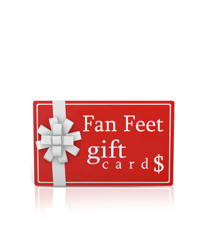 Fan Feet Gift Card