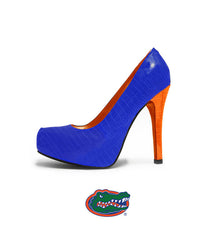 Florida Gator Heels - The Swamp Heel in Blue