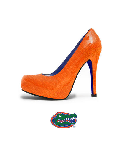 Florida Gator Heels - The Swamp Heel in Orange