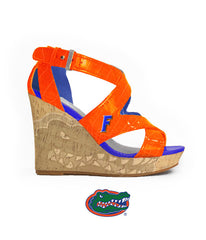 Florida Gator Heels - Wedge