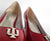 Hoosier Heels - Indiana Kitten Heel Red