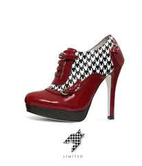Houndstooth - Bootie - Fan Feet