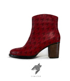 "Limited Houndstooth Short Boot - ""The Process"""