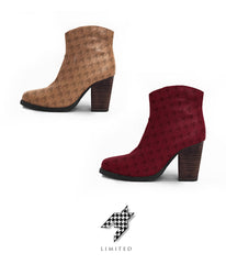 Limited Houndstooth Boot - The Process Collection