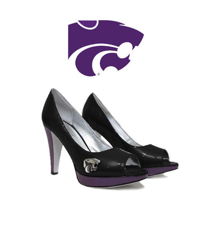 SAMPLE  Kansas State - Powercat Heel - Madita (Black)
