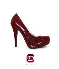 Cocky Heels - South Carolina Heels