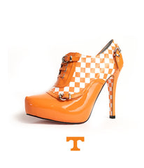 Tennessee Vol Heels - Big Orange Bootie