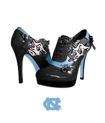 UNC High Heels - Midnight with Rameses