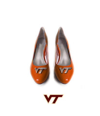 Hokie Heels - Hokie Flat (Orange)