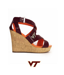 Hokie Heels - Wedge