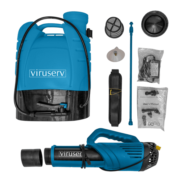 VIruserv Backpack - Electrostatic Battery Powered