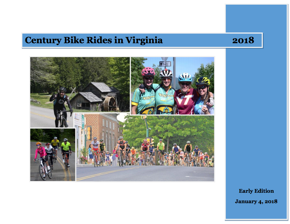 Virginia Century Bike Ride Database – Carytown Bicycle Company 6f14bed2e
