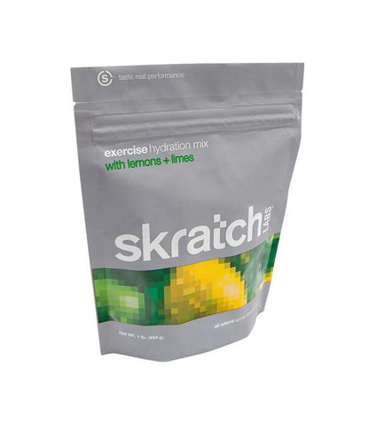 Skratch Labs Exercise Hydration Drink Mix: Lemons and Limes, 1 lb Bag