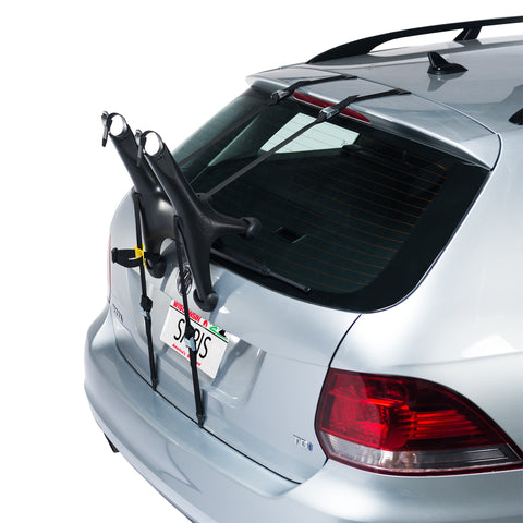 Saris Solo Trunk Rack: 1-Bike,Black