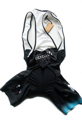 CBC Blackout Bib Shorts Blue