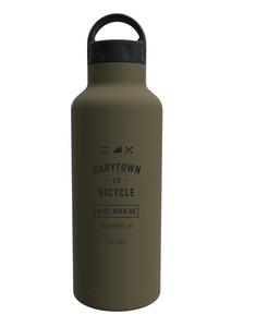 CBC Industrial S/S Vacuum Bottle Olive