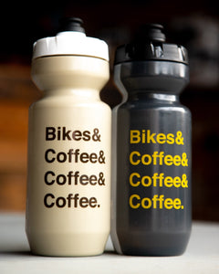 Bikes & Coffee Water Bottle