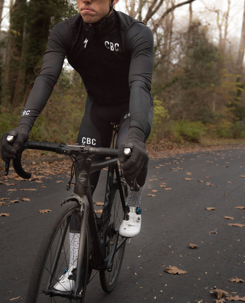 CBC Blackout Hi-Vis Bib Shorts
