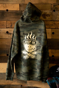 Drop In Coffee Campfire Hoodie