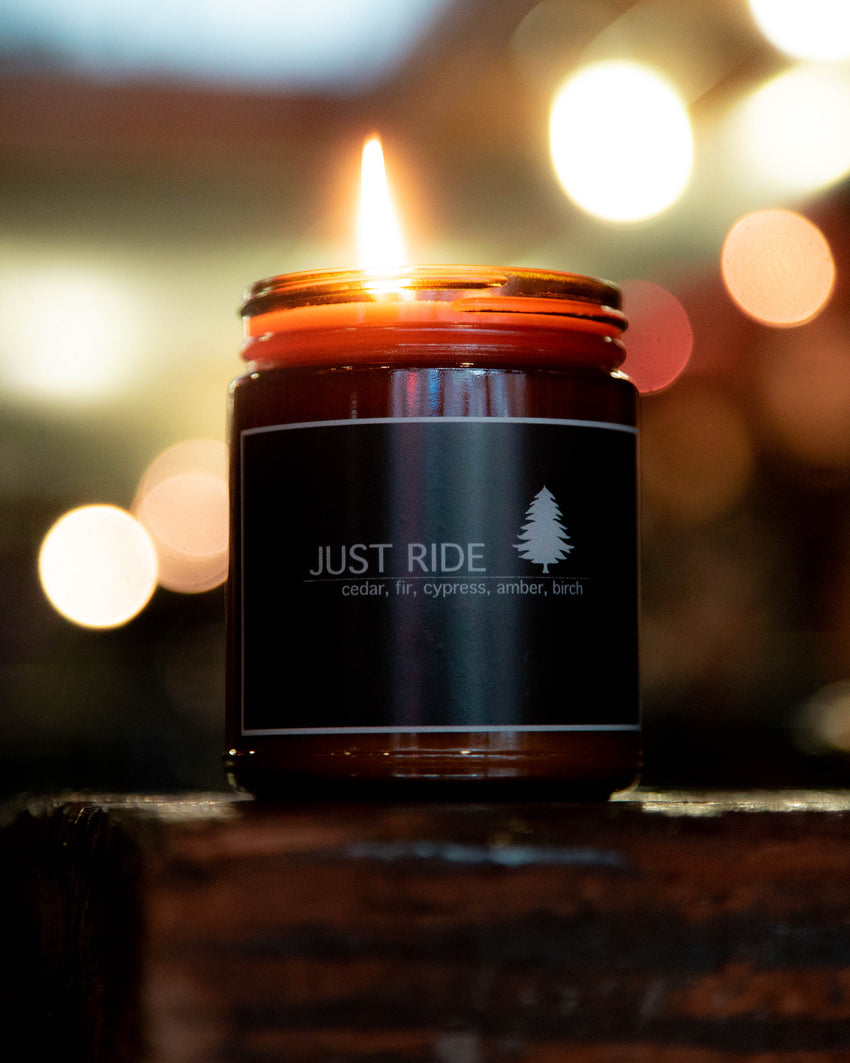 Just Ride Scented Candles