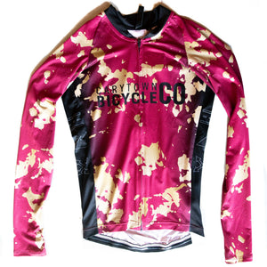 CBC Desert Wine Splatter Long Sleeve Jersey