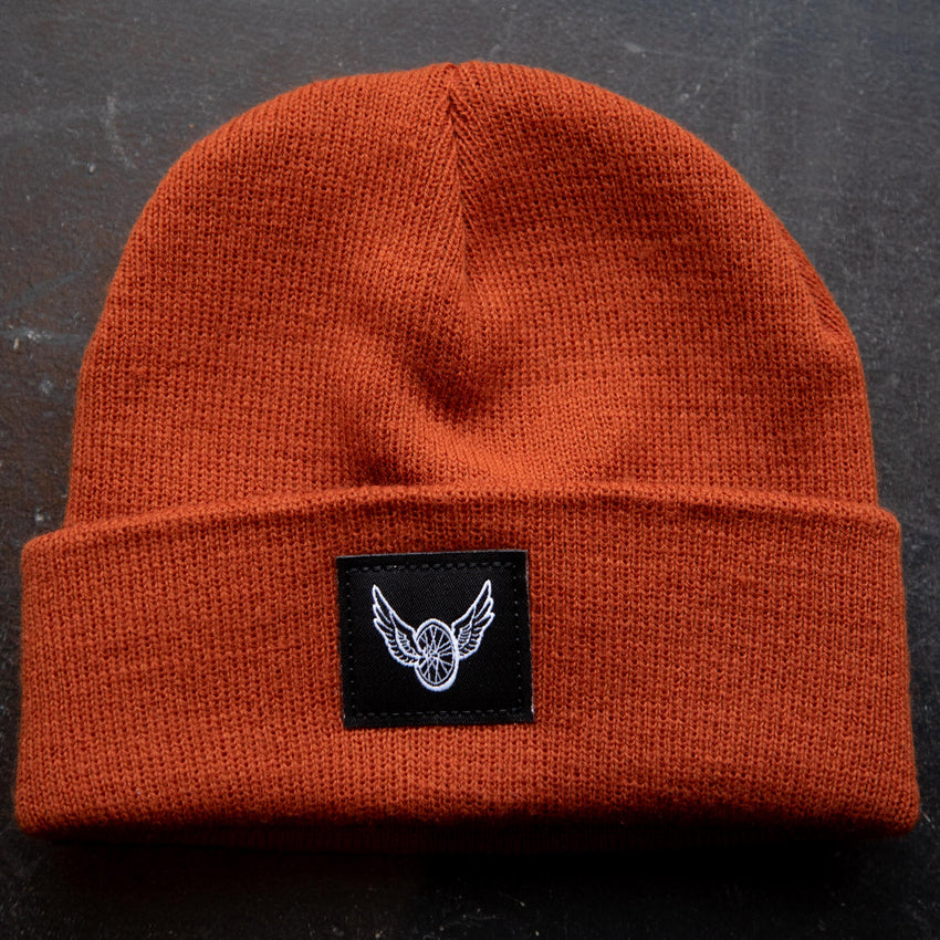Winged Wheel Beanie