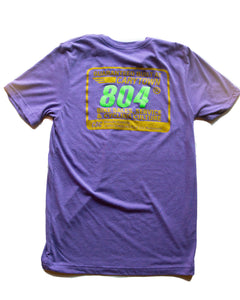 Steel is Real 804 Purple Tee