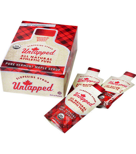 UnTapped Maple Syrup Athletic Fuel Packets