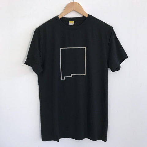 Men Tshirt Bamboo Cotton New Mexico Black