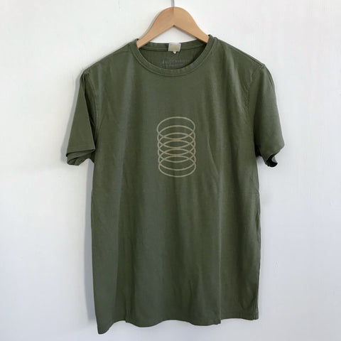 Men Tshirt Bamboo Cotton Slinky Green Tea