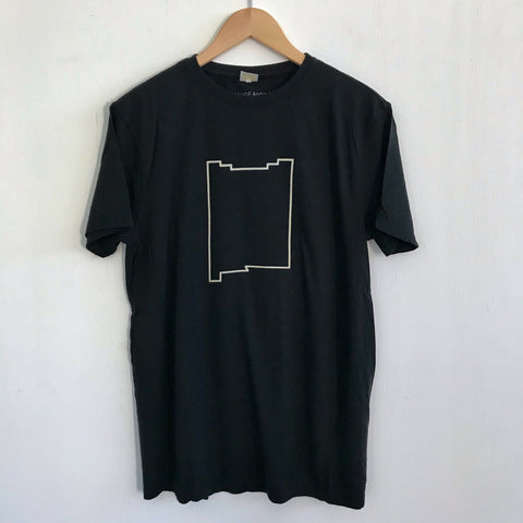 Men Tshirt Bamboo Cotton NM Adobe Black