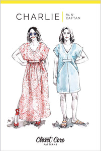 Charlie Caftan Pattern by Closet Core