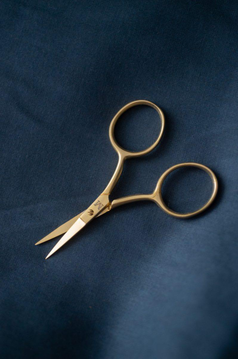 Fine Work Gold Scissors by Merchant & Mills