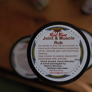 Joint & Muscle Rub by Red Root Herbs