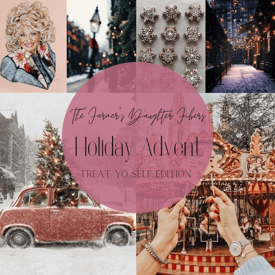 FDF Holiday Advent 2020 - Treat Yo Self