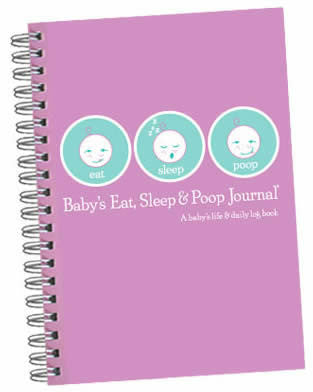 Eat, Sleep & Poop (Newborn Tracking Journal)