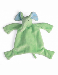 SOLD OUT - Small Elephant Sleep Lovey (sage green)