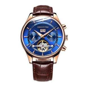 Men's Mechanical Tourbillon Watch