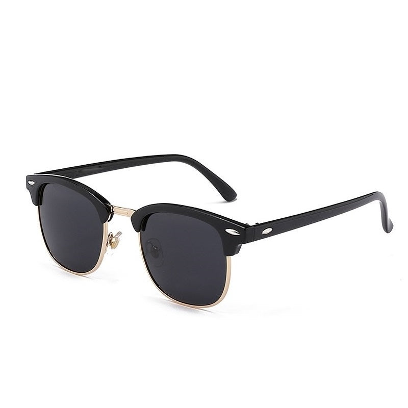 Men's Half-Frame Polarized Sunglasses
