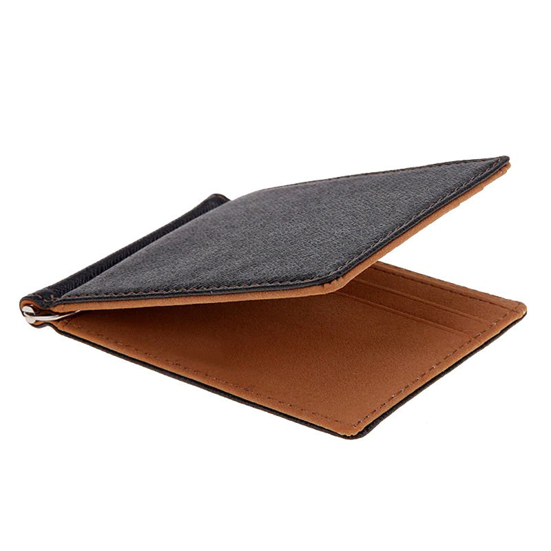 Men's Slim Leather Wallet