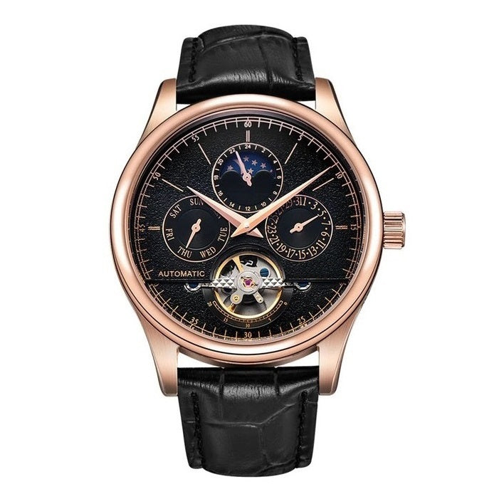 Men's Automatic Tourbillon Watch