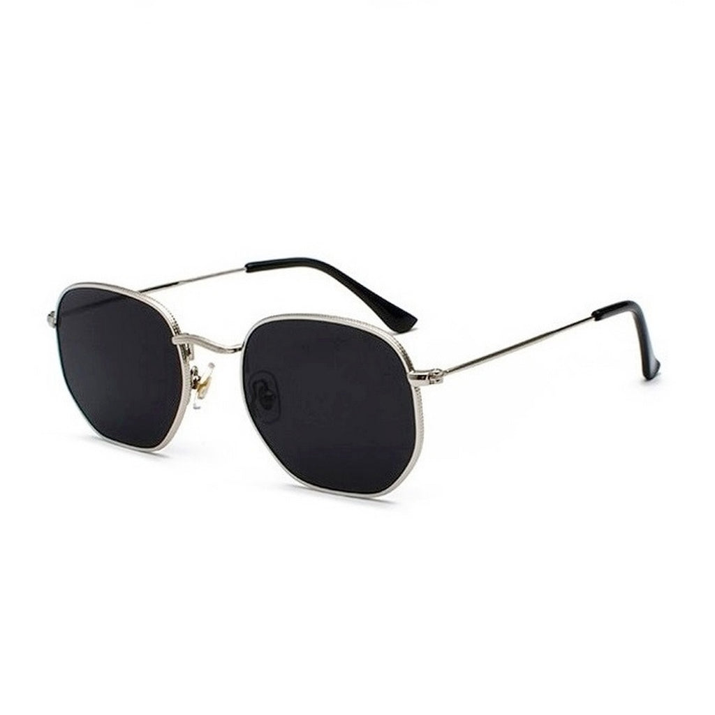 Men's Hexagonal Sunglasses