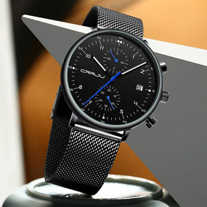 Men's Fashion Mesh Strap Watch