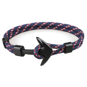 Men's Paracord Anchor Bracelet