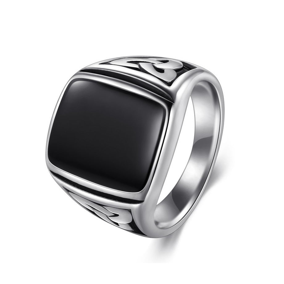 Men's Titanium Viking Ring