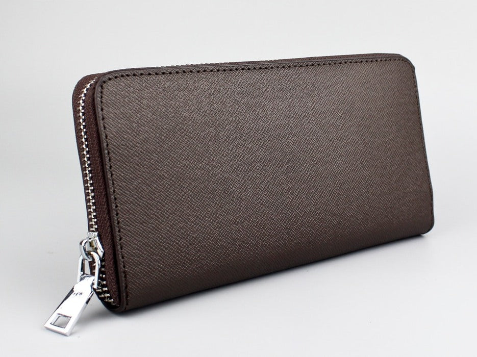 Men's Rectangular Leather Wallet