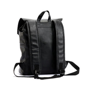 Men's Vintage Leather Laptop Backpack